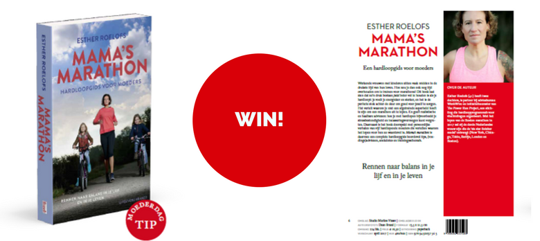 Win! Het boek Mama's Marathon