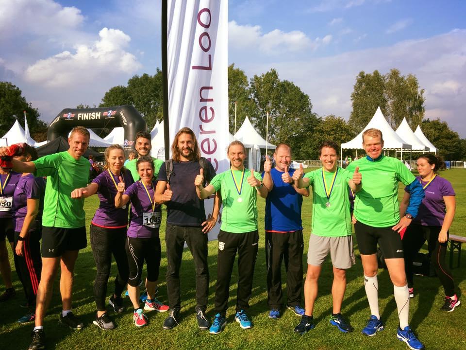 #4medailles1maand: 1e plek Zorgmarathon!