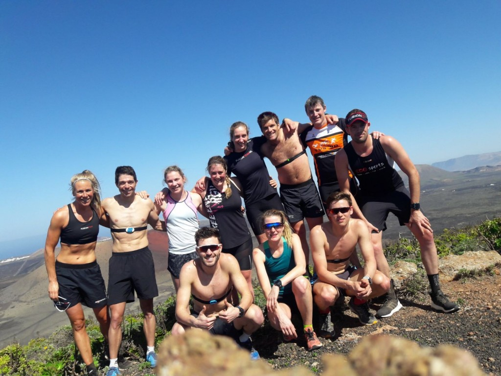 Train like a pro?! Trainingskamp Lanzarote!