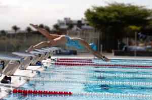 Van zwembadvrees naar Funky zwemkunsten