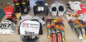 Voeding tijdens een (Ironman) race