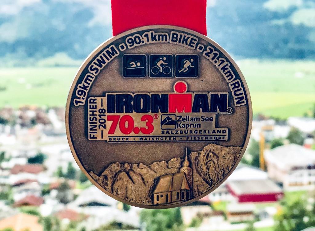 Ironman 70.3 in Zell am See: bar & boos